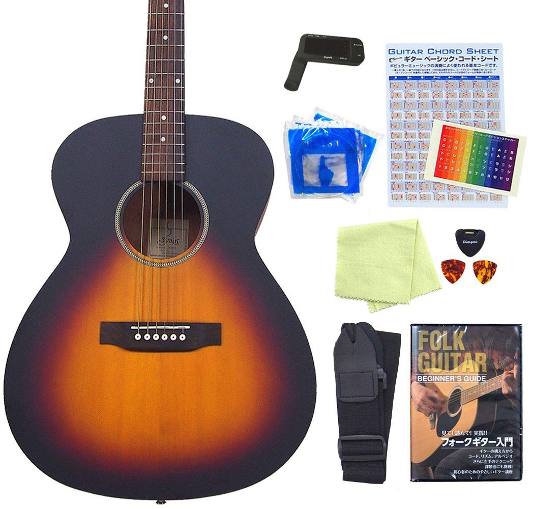 アコースティックギター S.Yairi YF-04 アコギ 初心者 入門 13点セット ミディアムスケール VS [98765] 【検品後発送で安心】 B00LO4VRHG VS(ヴィンテージサンバースト) VS(ヴィンテージサンバースト)