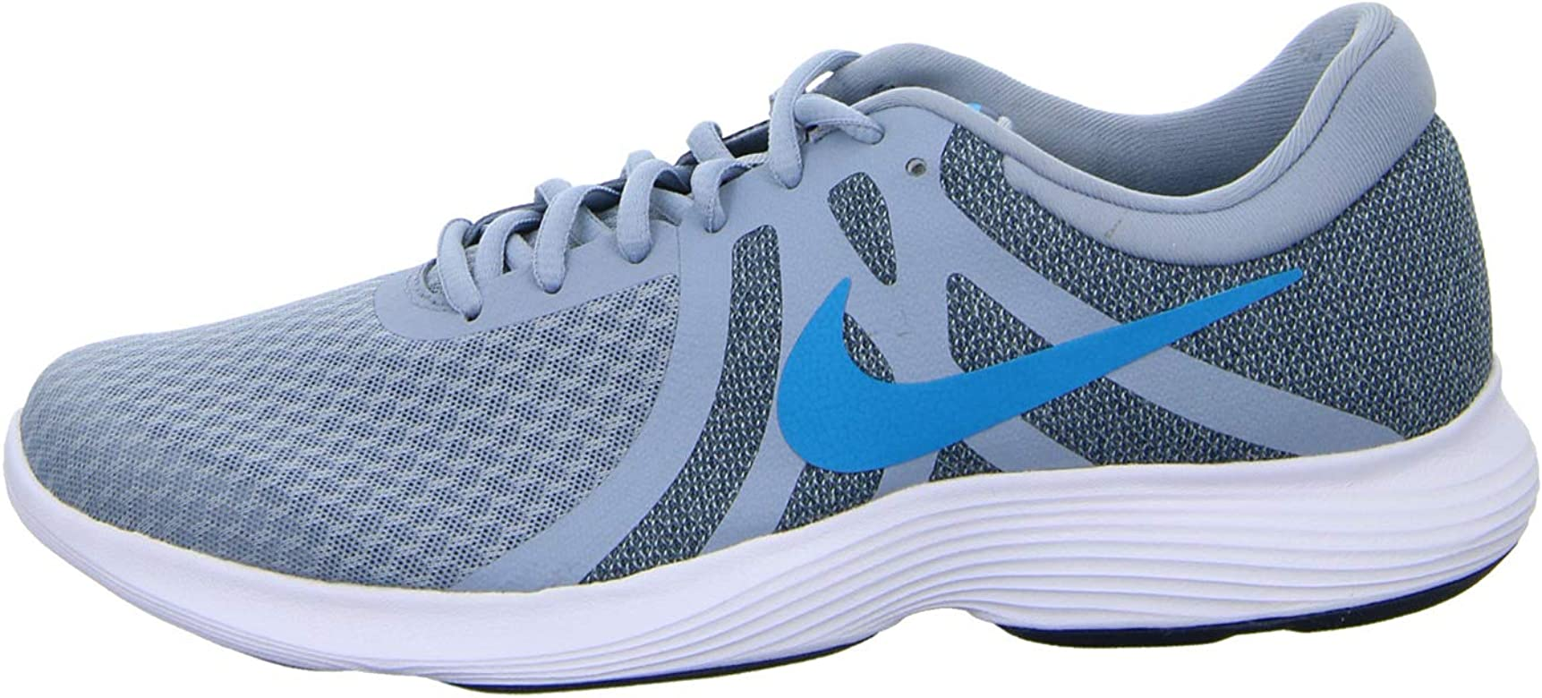 Nike Revolution 4, Zapatillas de Atletismo para Hombre, Multicolor (Obsidian Mist/Blue Lagoon/Monsoon Blue 000), 45 EU: Amazon.es: Zapatos y complementos