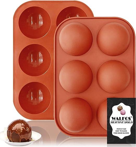 HIGH QUALITY Chocolate Dome Sphere Hemisphere Silicone Mold