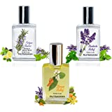 Nutravana Remedy Trio Gift Set: Headache & Stress Relief, Fatigue Buster Natural Health Aromatherapy Spa Bliss for Women Men Mom Dad Girls or Get Well -Ready to Roll-on -Safe for Kids -100% Guarantee