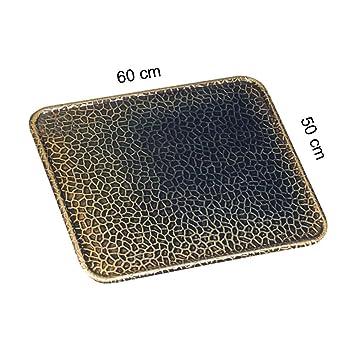 Kamino - Flam – Placa protectora contra chispas (50 x 60 cm), Antichispas