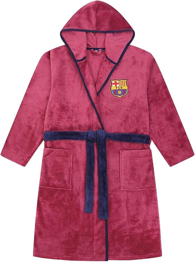 Forro polar Bat/ín oficial con capucha Para ni/ño FC Barcelona