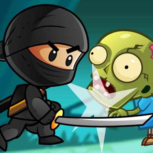 Ninja Kid Adventure World and Group Of Dumb Zombies!