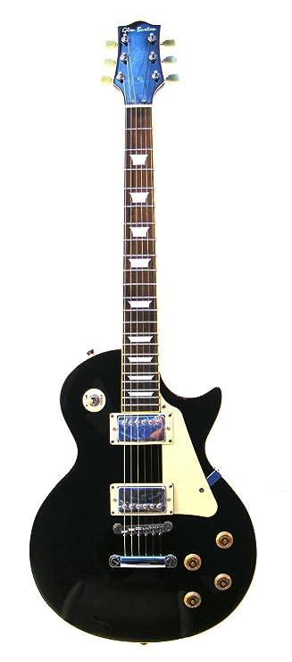 Amazon.com: Glen Burton GE320-BKT Classic LP Style Electric Guitar, Black with Tan Pick Guard: Musical Instruments