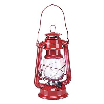 Led Éclairage De TempêteLanterne Métal CampingEn Avec À Lampe EW2H9ID
