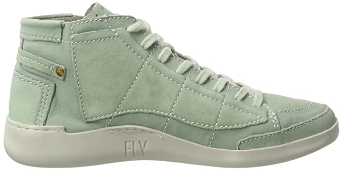 Fly London Tims241, Sneakers Hautes Femme, Vert (Pastel Green 013), 42 EU