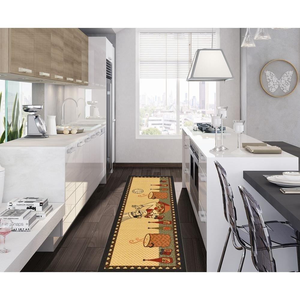 Amazon.com: Ottomanson Siesta Collection Kitchen Chef Design ...