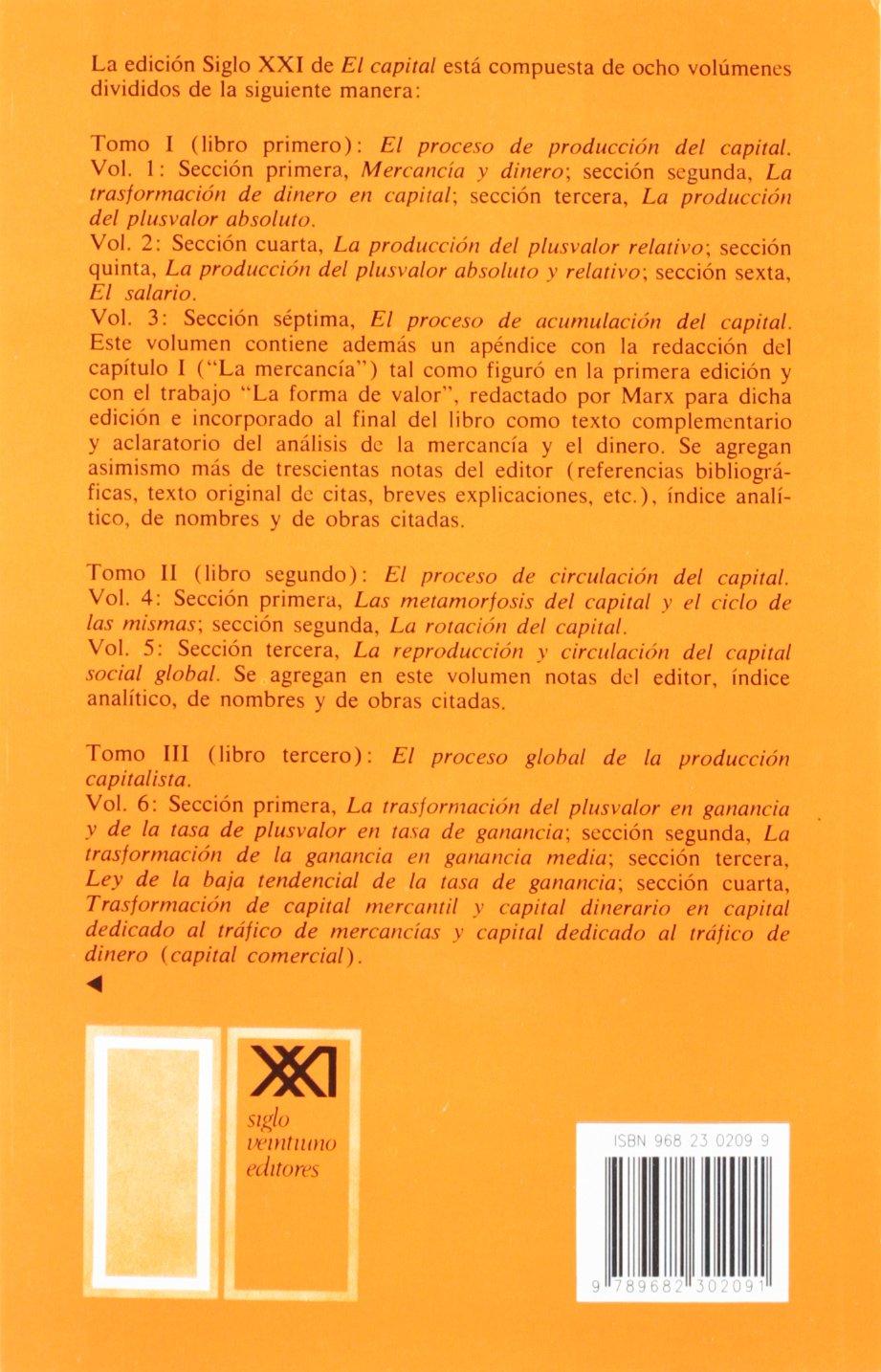 Amazon.in: Buy El capital. Libro primero, vol. 1: 0 Book Online at Low  Prices in India | El capital. Libro primero, vol. 1: 0 Reviews & Ratings