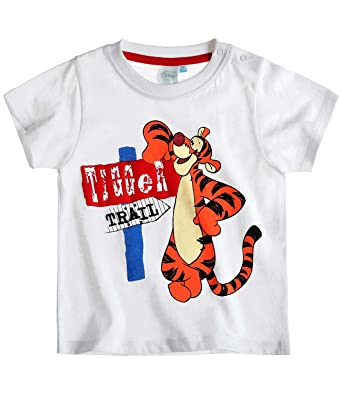 9df67356a57ec Disney Tigger T-Shirt white (24 month): Amazon.co.uk: Clothing