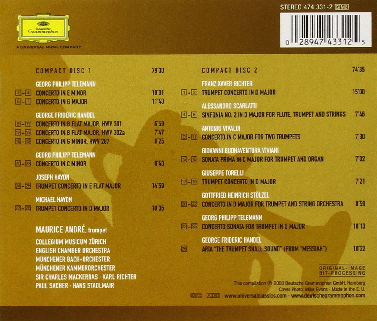 The Trumpet Shall Sound by Deutsche Grammophon