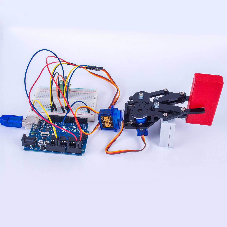 SunFounder Standard Gripper Kit Paw for Robotic Arm Rollarm DIY Robot Arduino Uno Mega 2560 Nano by SunFounder (Image #2)