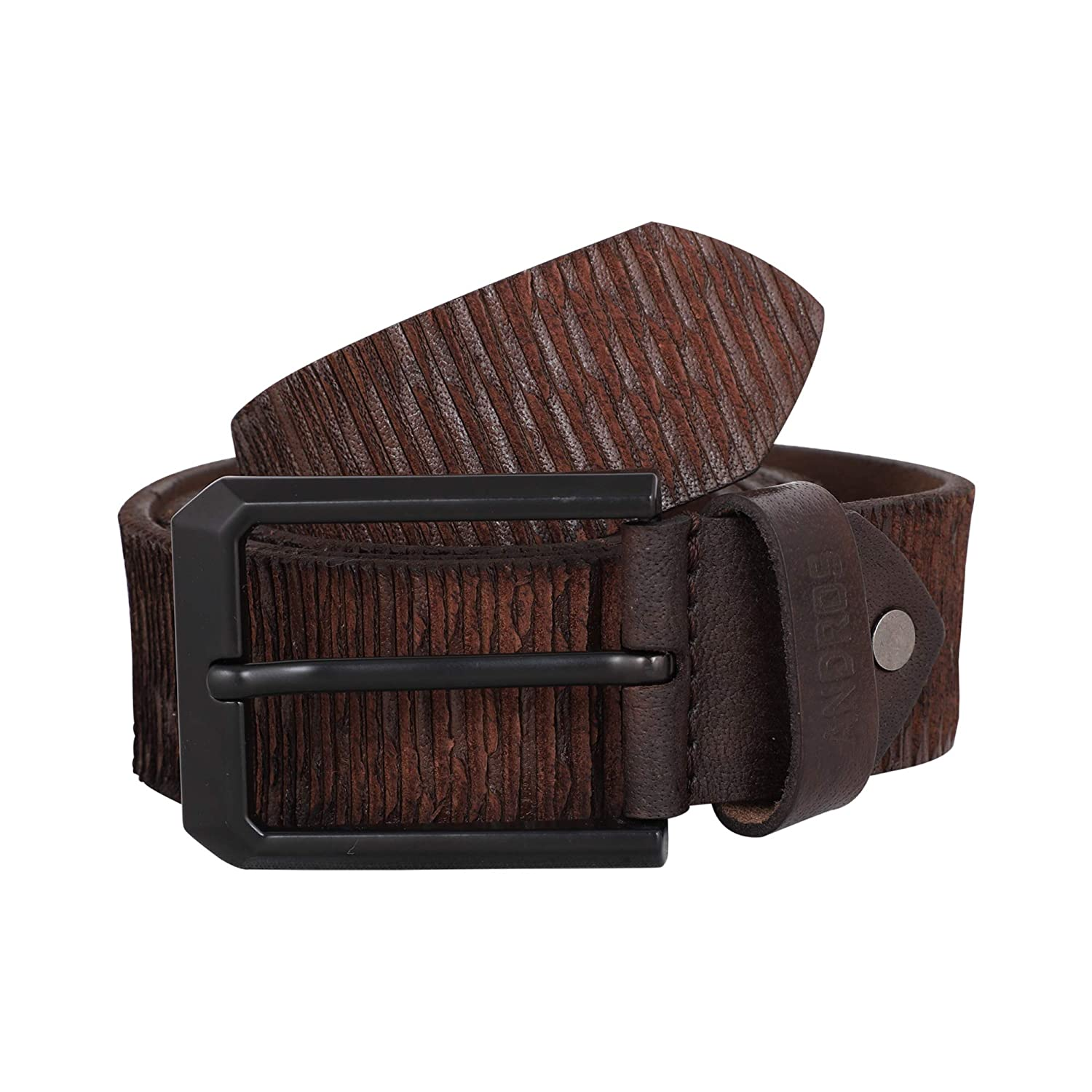 Andros Mens Casual Leather Belt