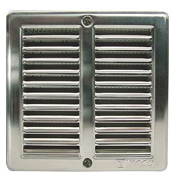 Haco - Rejilla de ventilación con mosquitera y marco de ...