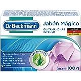 Dr. Beckmann Jabón Mágico para Manchas en Tapicería, Tapetes, Sillones y Ropa Blanca y de Color, 100 G, 1 Pza.