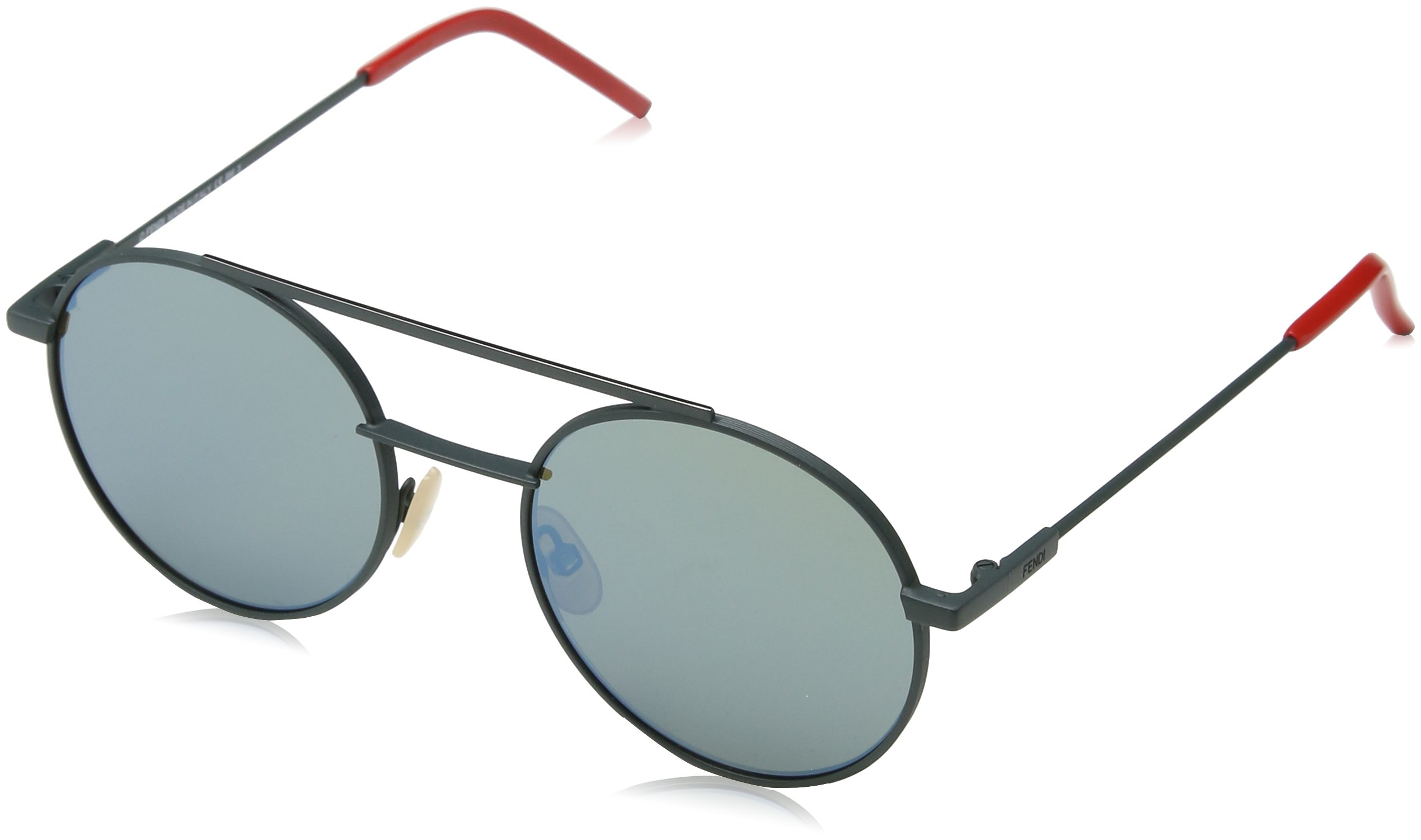 974314f85f3 Sunglasses Fendi 221  S 01ED Green   3U khaki mirror blue lens