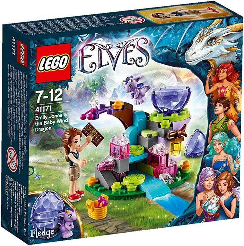 LEGO Elves 41171: Emily Jones & The Baby Wind Dragon