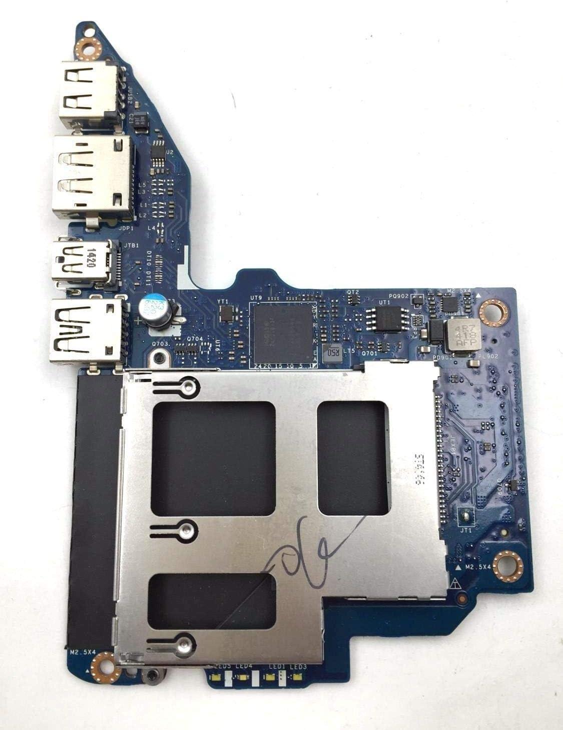 Compatible for HP ZBook15 ZBook17 USB Port Socket Audio Card Reader Board LS-9371P 737733-001