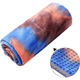 Amazon.com: Tapete para yoga de microfibra, toalla caliente ...