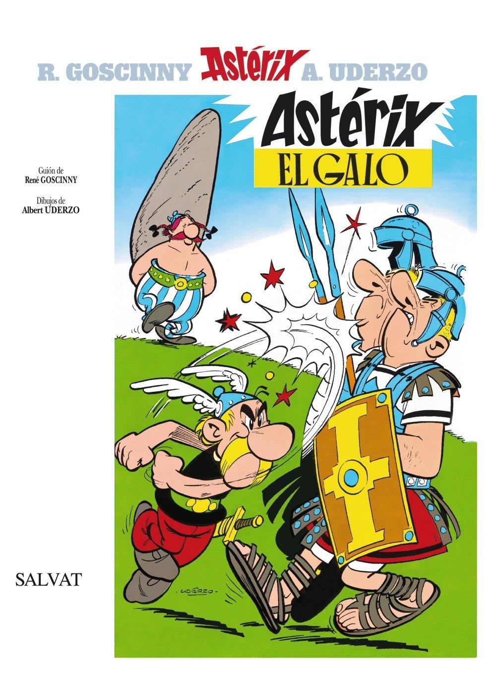 Astérix El Galo Castellano Salvat Comic Astérix Spanish Edition Uderzo Albert Goscinny René 9788434567191 Books