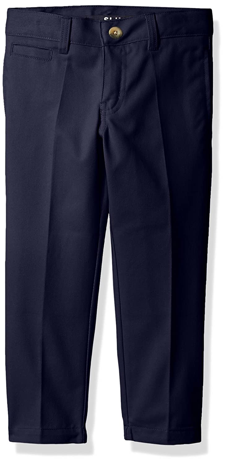 French Toast Boys' Slim Fit Double Knee Pant SK9464