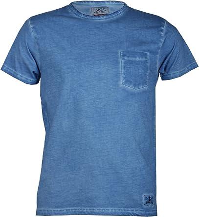 Camiseta Lisa Sun Azul Azul Claro S: Amazon.es: Ropa y accesorios