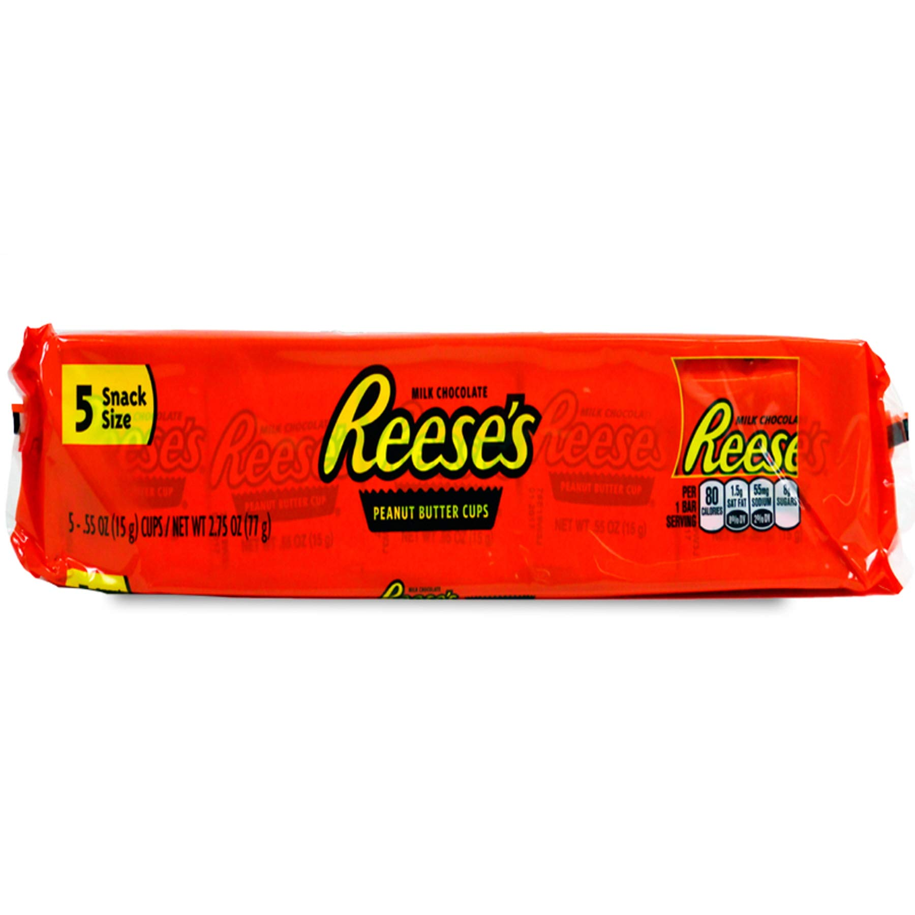 (Pack of 36, 180 Ct) Reese's Peanut Butter Cup