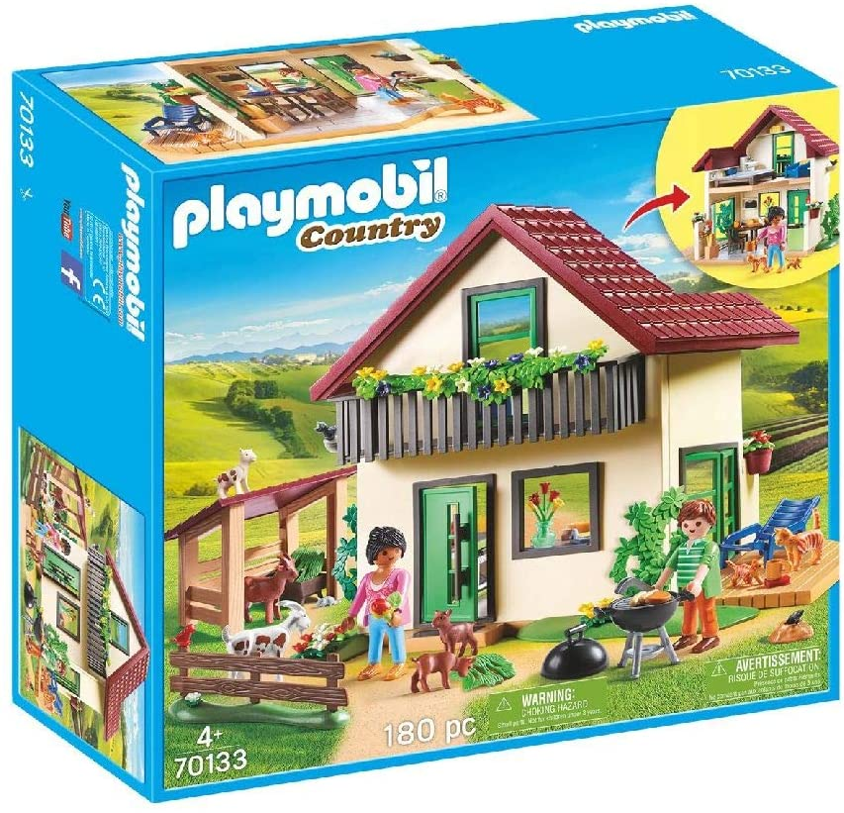 PLAYMOBIL Country Casa de Campo, A partir de 4 años (70133)