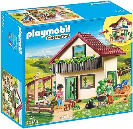 PLAYMOBIL Country Casa de Campo, A partir de 4 años (70133): Amazon.es: Juguetes y juegos