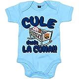 Body bebé Culé desde la cuna FC Barcelona - Celeste, 12-18 meses