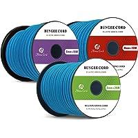 Abma Cord Cuerdas Elásticas 100% Cordón de Choque Elástico para Correas Elásticas, Redes de Carga, Elementos de Sujeción…