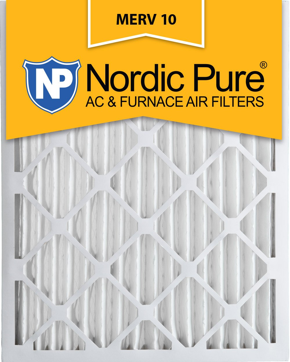 Ac Filters Orlando Nordic Pure 20x25x2 Merv 10 Pleated Ac Furnace Air Filter Box Of