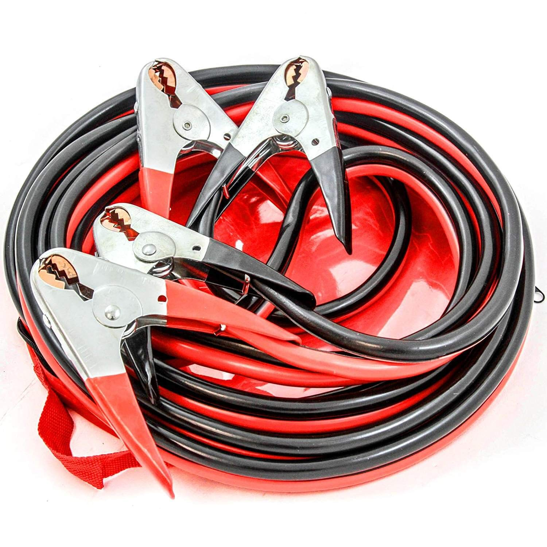 flexible Jumper cable 50 feet truck 2 gauge for car 4 season, van suv