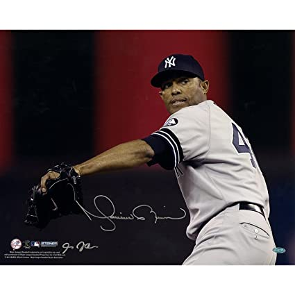 03b1c35f0 Image Unavailable. Image not available for. Color  Mariano Rivera Signed ...