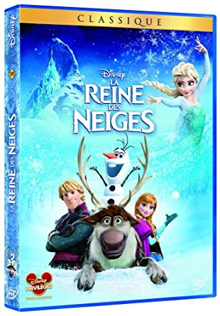 La Reine Des Neiges Amazonfr Chris Buck Jennifer Lee Dvd Blu Ray