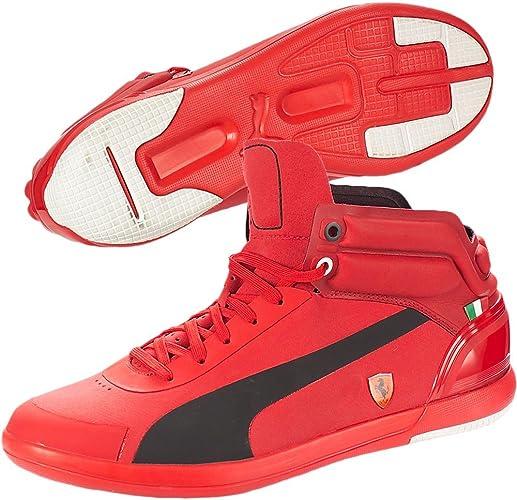 puma ferrari scarpe uomo rosse