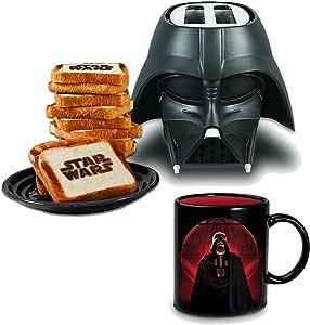 Set de Desayuno Star Wars : Tostadora Darth Vader y Taza