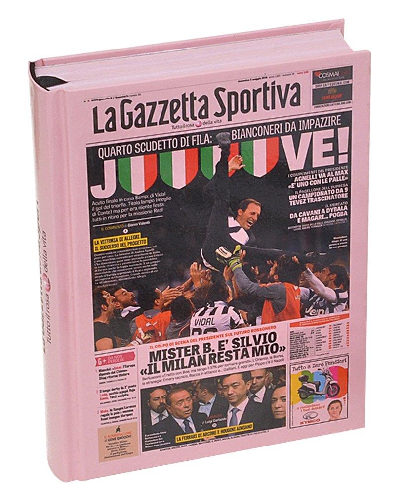 Fiori Paolo Gazzetta dello Sport Set per la Scuola, Rosa/Bianco/Nero, 17 cm GZ300/J