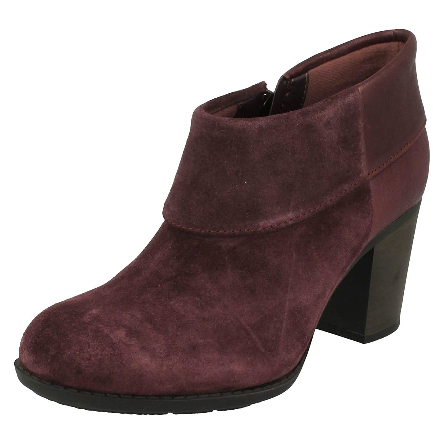 366ea2e2 Clarks Enfield Canal Womens Casual Ankle Boots