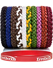 Mosquito Repellent Bracelet Natural Insect - Deet Free Repellent Bands, Mosquito Killer For Long Protection Outdoor and Indoor, For Adults & Kids, 10 color bracelets