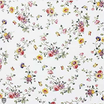 Amazon floral paper napkinsalink spring flower design vintage floral paper napkinsalink spring flower design vintage luncheo napkins serviettes 20 count for mightylinksfo