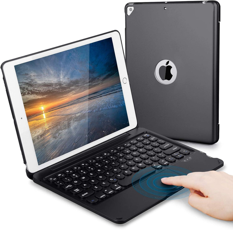 Touch iPad Keyboard Case 10.2/10.5 for iPad 8th 7th Generation, iPad Air 3rd Gen, iPad Pro 10.5