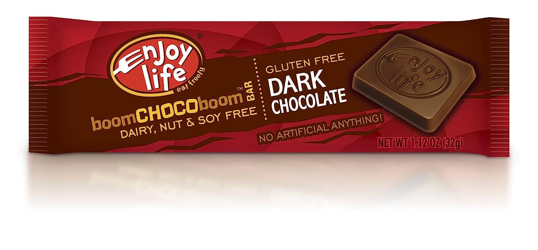Amazon.com : Enjoy Life Boom Choco Boom Bar, Dark Chocolate, 1.12 ...