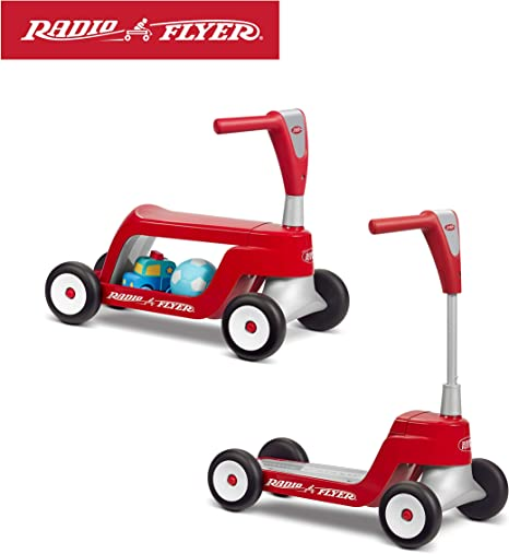 Radio Flyer Scoot 2 Scooter Ride On