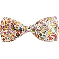 Blacksmith Pizza Pasta Color Design Bow Tie for Men Bowtie