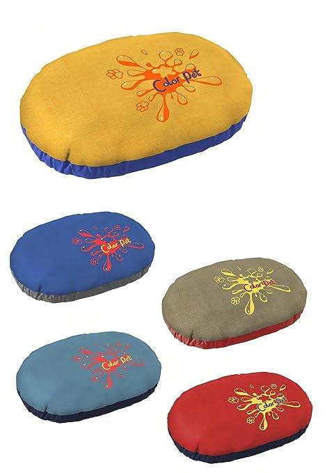 Caseta cojín suave para perros gatos Relax 100 x 65 x 14h colores surtidos