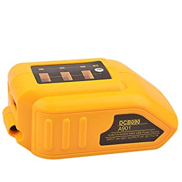 DCB090 Cargador USB máximo de 12V / 20V para el adaptador de ...