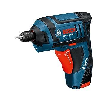 Bosch GSR Mx2Drive Professional, Destornillador Eléctrico en Maletín de Transporte (1 Batería de 1.3 Ah Litio, Correa de Sujeción, 3.6 V/220 V), ...