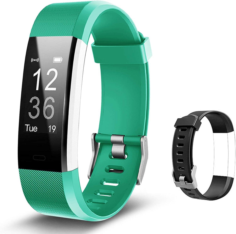 Lintelek Fitness Armband Herzfrequenzmesser Fitness Tracker Plus Hr Sport Uhr Bracelet Spritzwasser Geschützt Smartwatch Schrittzähler Gps Anrufe Sms Nachrichten Smart Armbanduhr Sport Freizeit