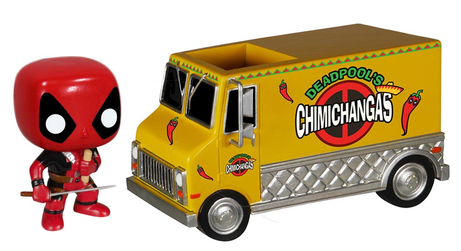 Funko Pop! Marvel Deadpool chimichanga con camión