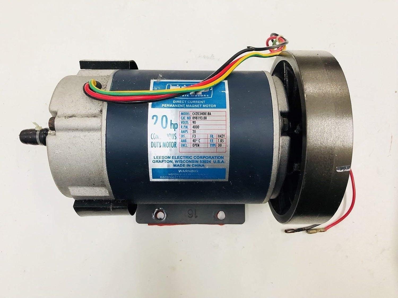 Johnson Health Tech DC Drive Motor 024711-00 Funciona con Vision ...